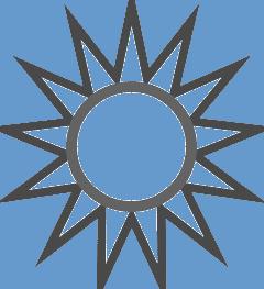 thirteen point star